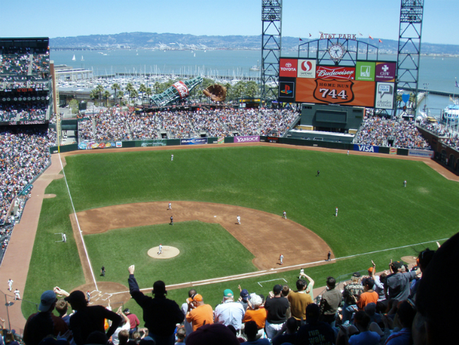 AT&T Park in San Francisco, San Francisco Giants