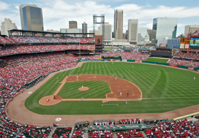 Busch Stadium of St. Louis Cardinals