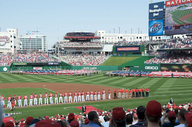 Nationals Stadium in Washington DC