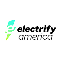 Electrify America logo.