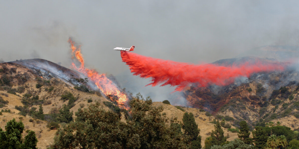 California wildfires and climate change.