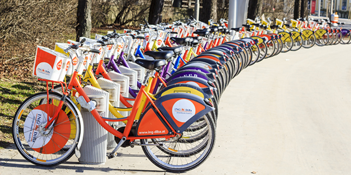 Bike shares provide another option for an energy efficient commute.