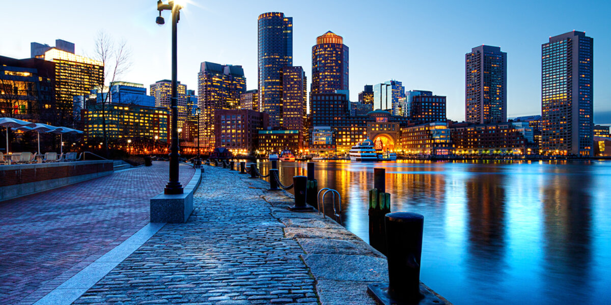 Boston tops the Alliance's list of most energy efficient vacation destinations.