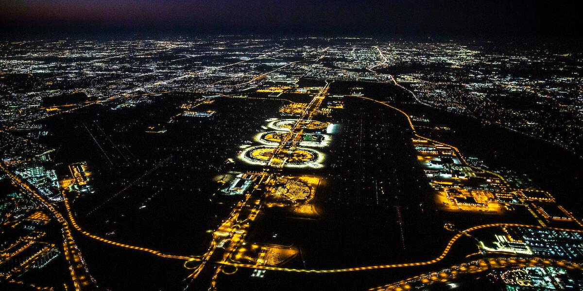 DFW airport.