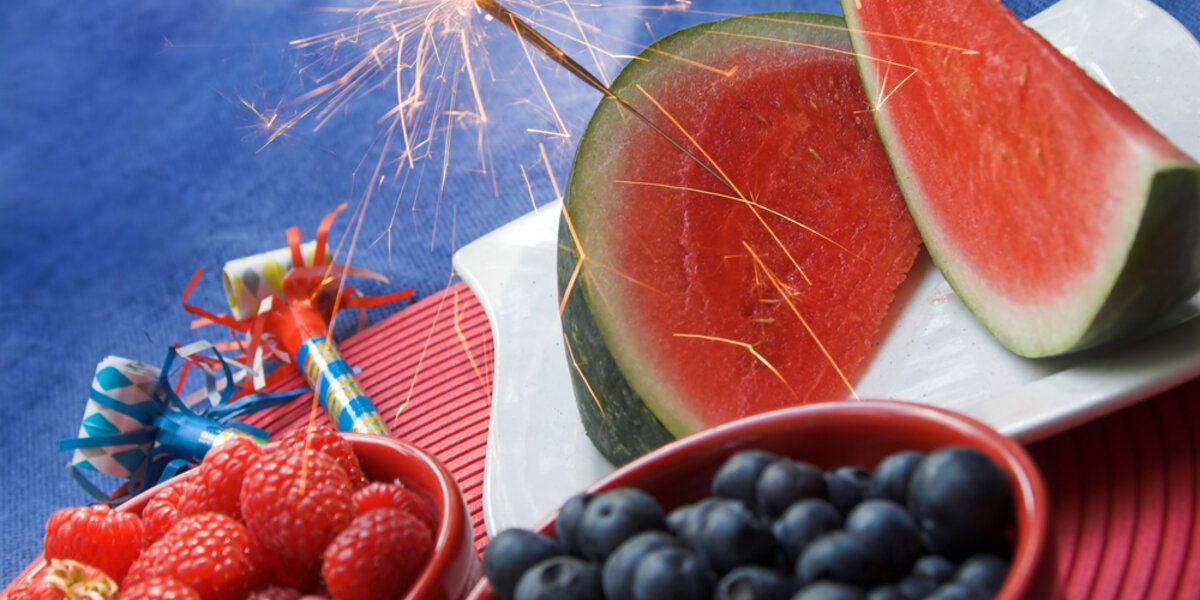 Keep your celebrations energy efficient during the Fourth of July.