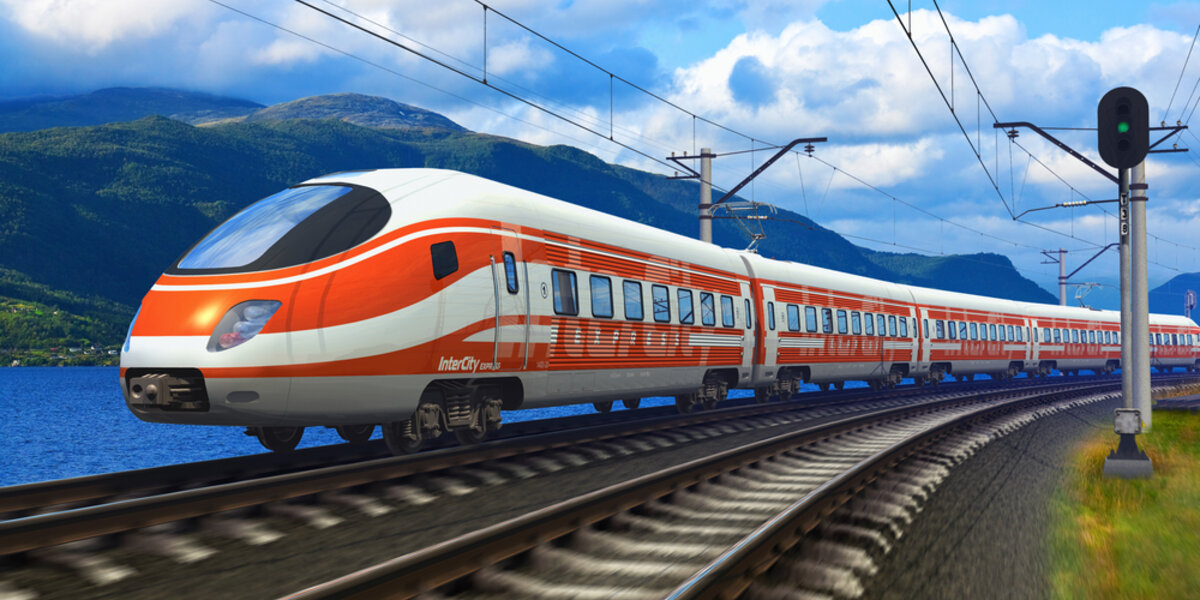 High speed rail will help increase the energy efficiency of American transportation.