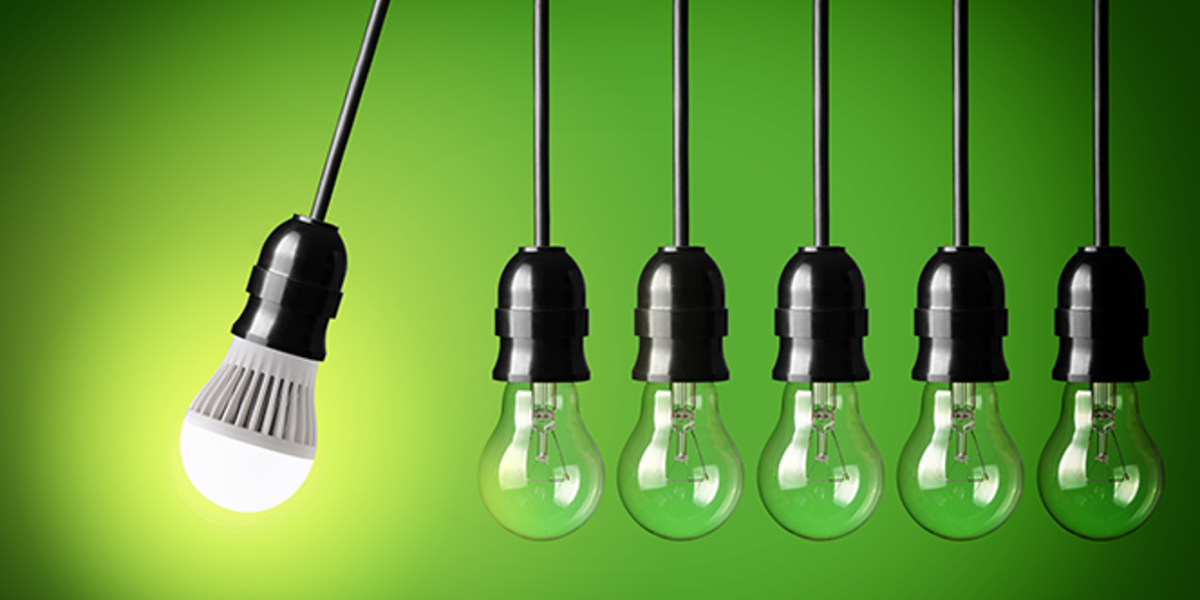 Installing efficient light bulbs is an incredibly cost-effective way to save energy.